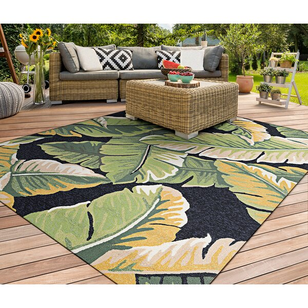 Terrific Wildermuth Rainforest Forest Hand Hooked Green Black Area Rug Home Interior And Landscaping Spoatsignezvosmurscom