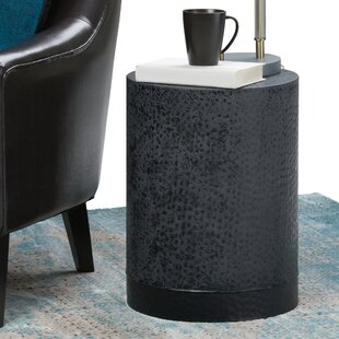 Compare Prunella Metal End Table by Orren Ellis