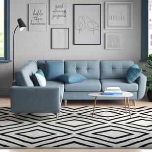 Anabella Sleeper Corner Sofa Bed By Zipcode Design