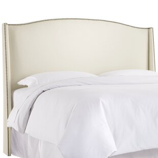 Gisela Nail Button Upholstered Wingback Headboard By Willa Arlo Interiors