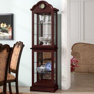 Astoria Grand Inglaterra Lighted Curio Cabinet