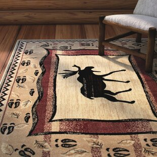 Best Reviews Iberide High-Quality Ultra Soft Traditional Berber/Red Area Rug By Loon Peak