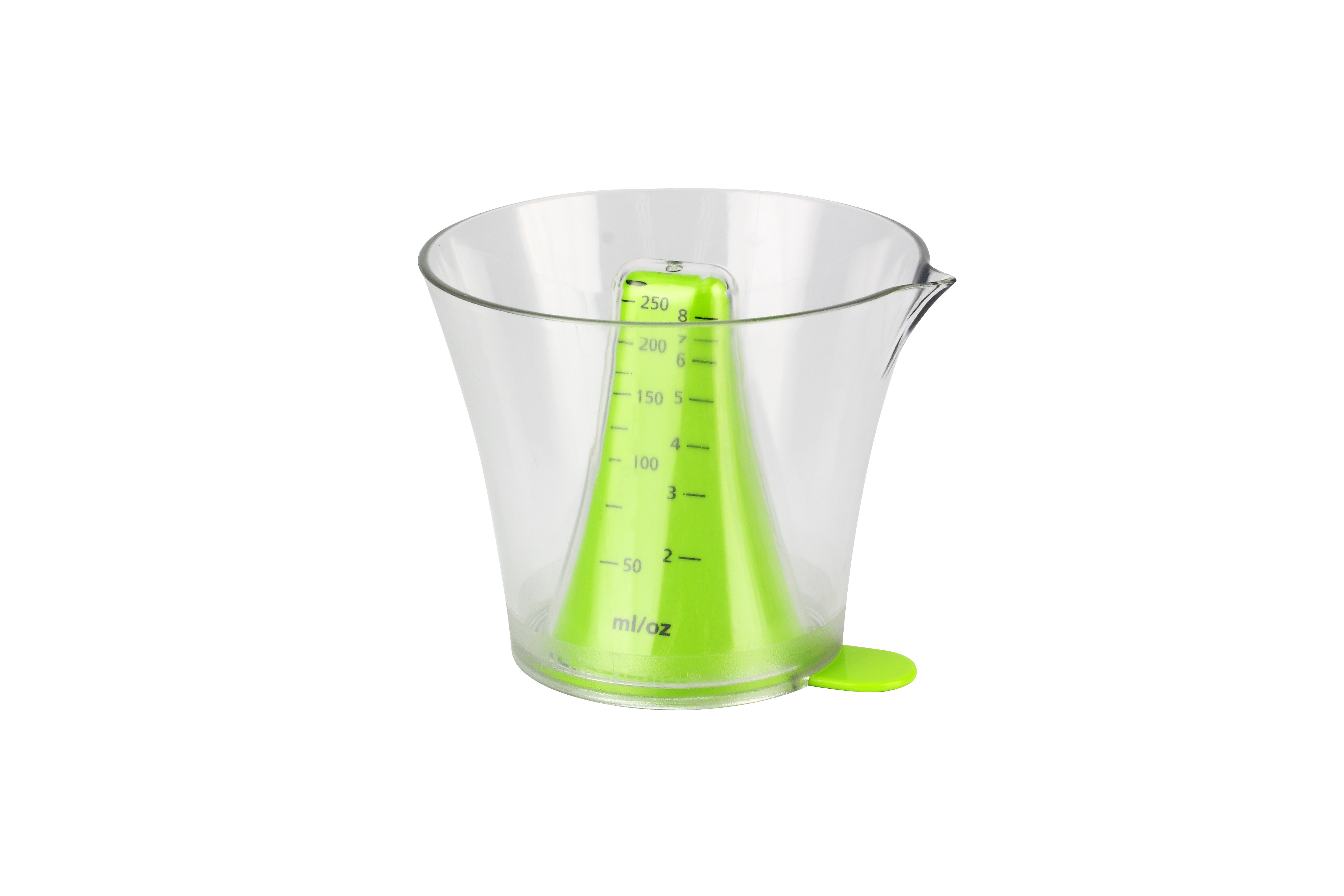 Urban Trend Reverso 2 Pieces Plastic Measuring Cup And Spoon Set Wayfair