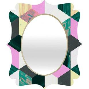Brayden Studio Sunday Vibes Quatrefoil Accent Mirror