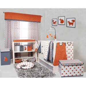 Balanchine 10 Piece Cotton Crib Bedding Set