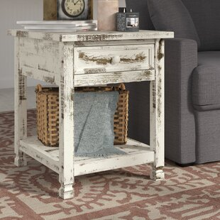 Laurel Foundry Modern Farmhouse Mangum Cottage Rectangular End Table