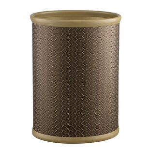Kraftware San Remo Oval Steel Waste Basket