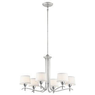 Darby Home Co Chasing 6-Light Shaded Chandelier