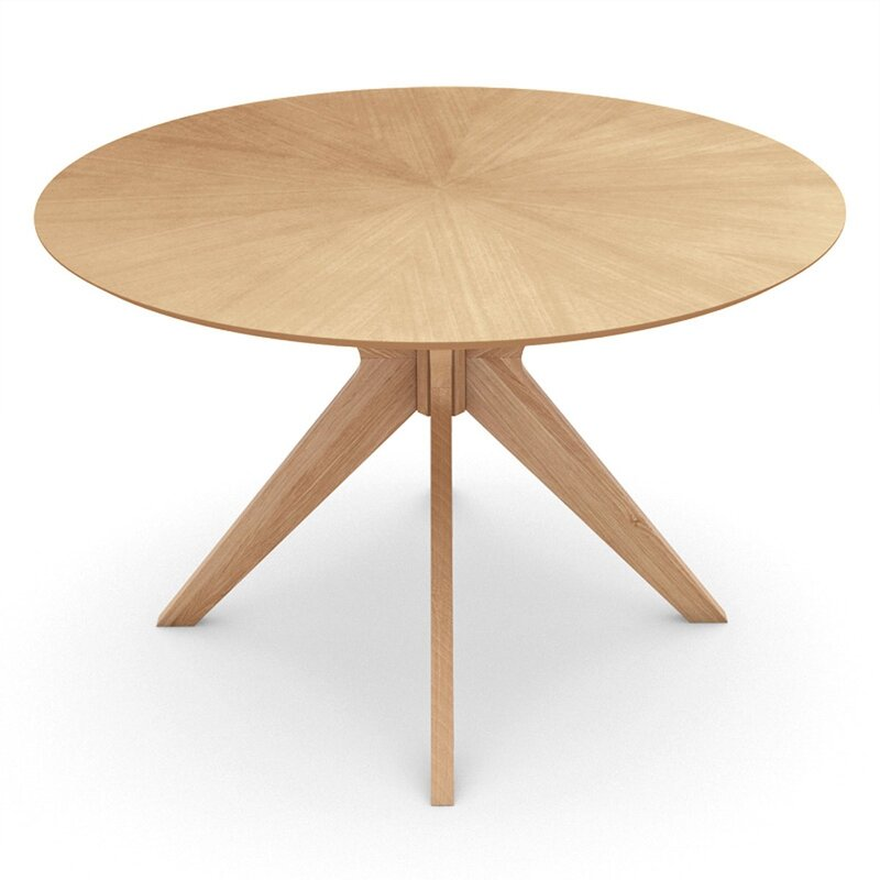 Wrought Studio  Mattison Dining Table Base Color: Natural, Top Color: Natural