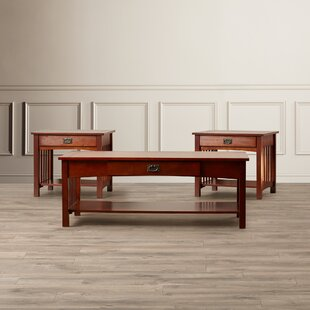 Harvel 3 Piece Coffee Table Set