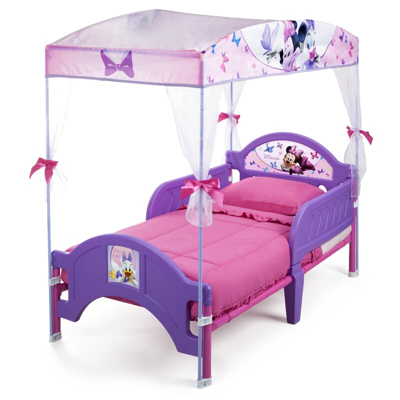 Minnie Mouse Bedroom 3 Drawer Storage Kids Wooden Box Pink: Delta Children Disney Minnie Mouse Bow-tique Convertible