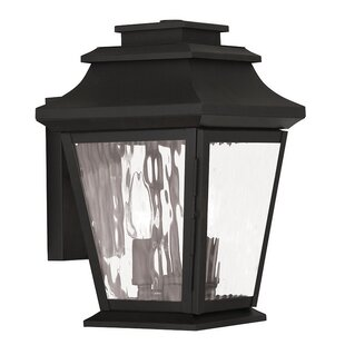 Best Reviews Campfield 2-Light Outdoor Wall Lantern By Darby Home Co