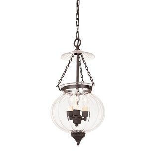 August Grove Hagen 3-Light Urn Pendant