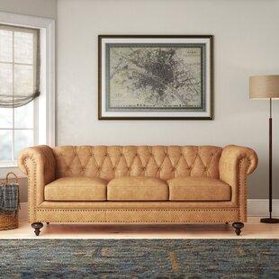 Tan Leather Sofa Birch Lane