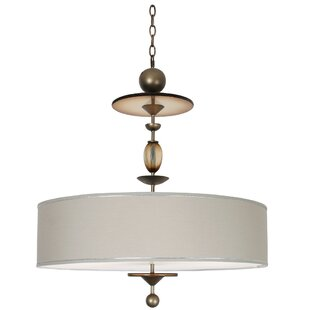 Winston Porter Cordelia 8-Light Drum Chandelier