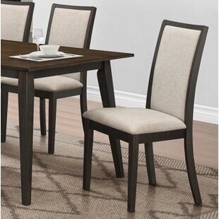 Dake Upholstered Dining Chair (Set of 2) Winston Porter