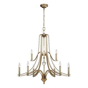 House of Hampton Scheider 9-Light Chandel..