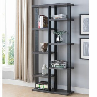 Street Multifunctional Wooden Etagere Bookcase by Gracie Oaks
