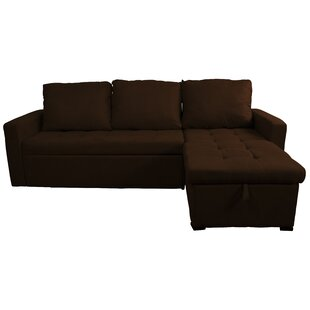 Tanesha Reversible Sleeper Sectional by Ebern Designs