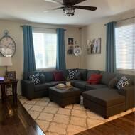 Latitude Run Arlinde 124 Right Hand Facing Sofa Chaise With Ottoman Reviews Wayfair
