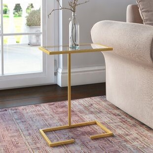 Affordable Price Bilertine End Table by Willa Arlo Interiors