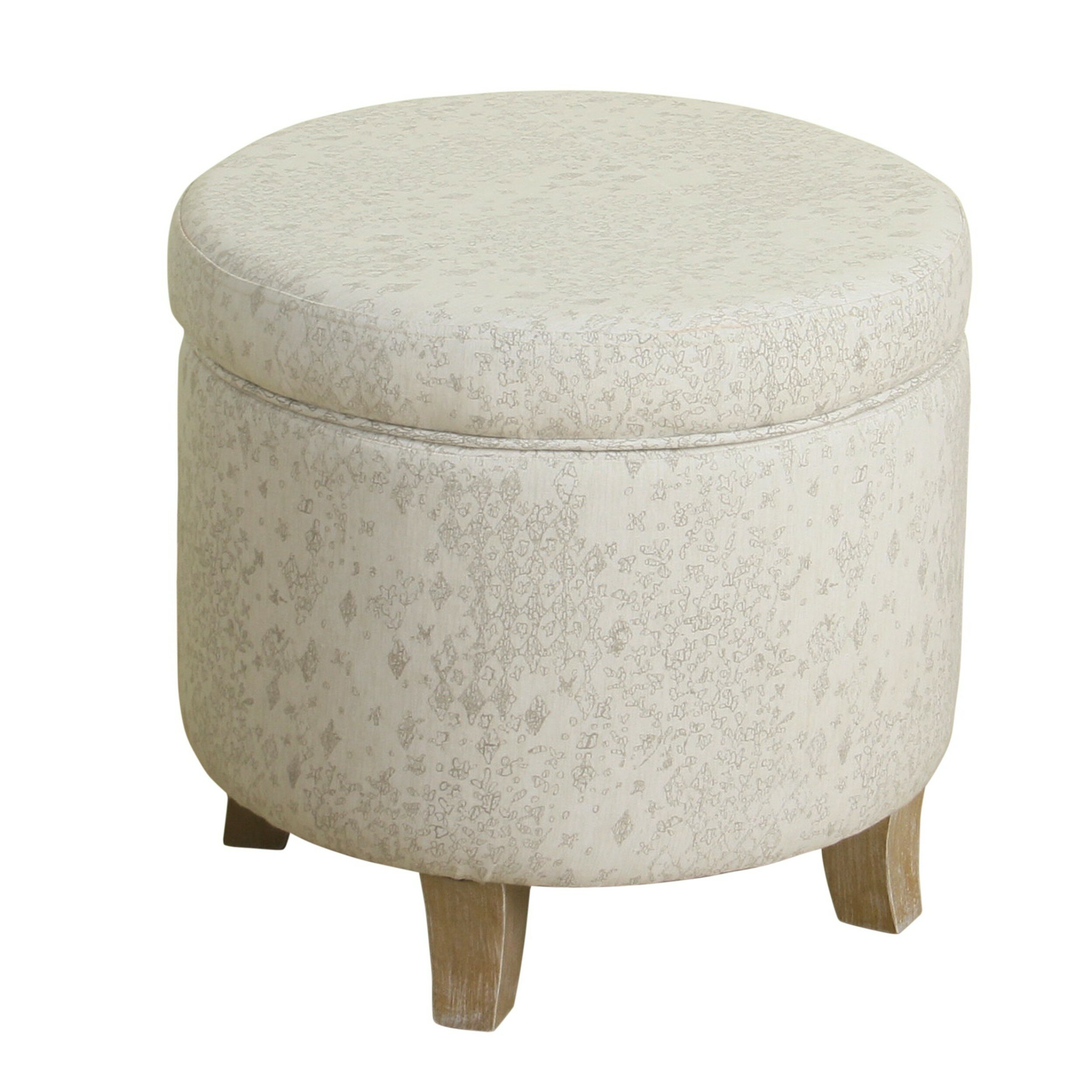 Awe Inspiring Derosier Round Storage Ottoman Caraccident5 Cool Chair Designs And Ideas Caraccident5Info