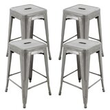 Schmidt Brage 24 Bar Stool (Set of 4) by Williston Forge