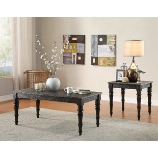 Canora Grey Gaye 2 Piece Coffee Table Set
