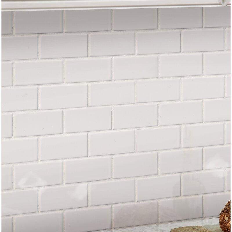 Staggered 2 X 4 Porcelain Subway Tile
