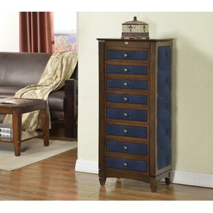 Wildon Home ® Jewelry Armoire with Cushions
