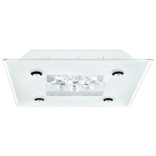 Affordable Les 1-Light Outdoor Flush Mount By Orren Ellis