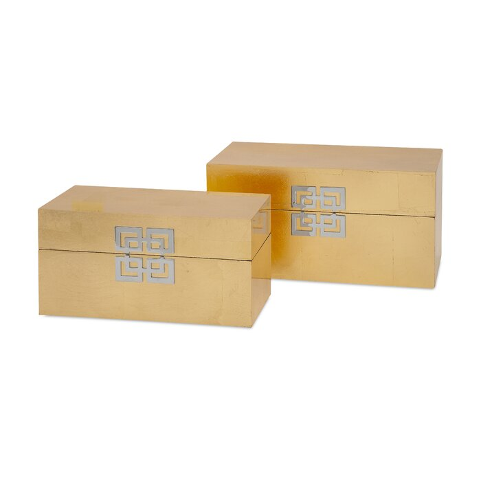 Alonso 2 Piece Decorative Box Set