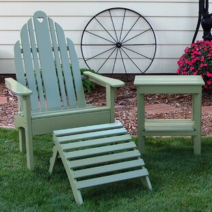 Prairie Leisure Design Grandparents Wood Adirondack Chair