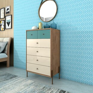 Alviso 6 Drawer Dresser