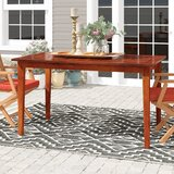 Calderon Solid Wood Dining Table