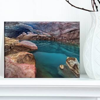 Hadleyhouseco A Desert Sunset By Kelly Wade Photographic Print On Wrapped Canvas Wayfair