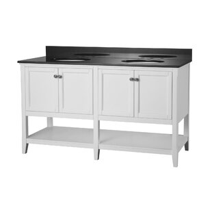 Auguste 60 Bathroom Vanity Base by Hazelwood Home