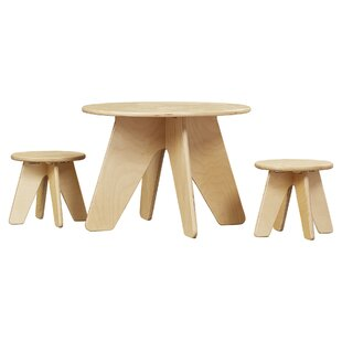 Ossett Kids 3 Piece Table & Stool Set