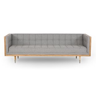 Charli Mid-Century Box Chesterfield Sofa