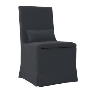 Hoang Dining Charcoal Gray Upholstered Dining Chair Gracie Oaks