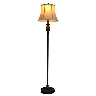 Floor lamps youll love wayfair borowski 61 floor lamp aloadofball Images