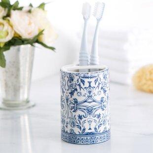 Kit Porcelain Toothbrush Holder By Charlton Home