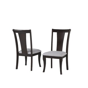 Komor Solid Wood Dining Chair (Set of 2)