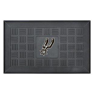 San Antonio Spurs Medallion Doormat By FANMATS