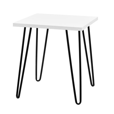 Folkston End Table Finish: White by Zipcode Design