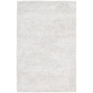 Plymouth Shag White Area Rug Mercer41