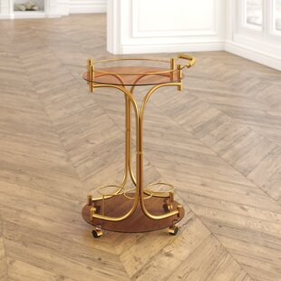 Review Damore Serving Cart