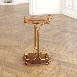 Price Sale Damore Serving Cart