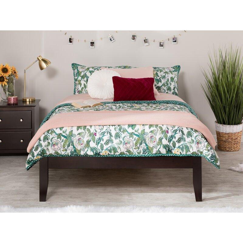 Andover Mills Mackenzie Solid Wood Platform Bed Reviews Wayfair