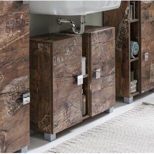 Cuthbert 71cm Free-Standing Under Sink Storage Unit By Rebrilliant